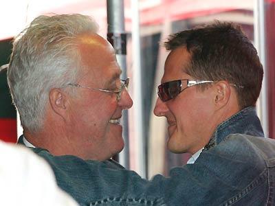Rolf e Michael, antes da primeira aposentadoria