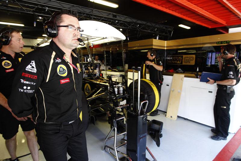 Eric Boullier está à frente da Renault desde o início de 2010