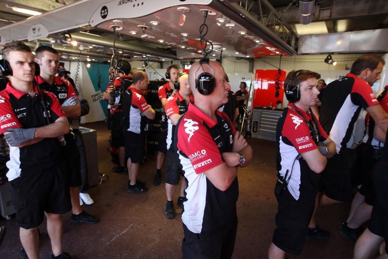 Virgin assiste treino de classificação em Mônaco