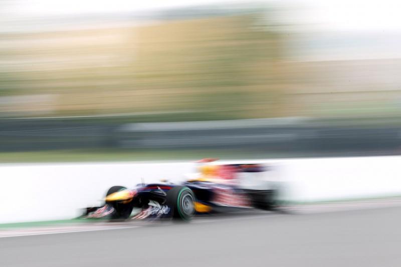 Red Bull em ação no GP do Canadá de 2010