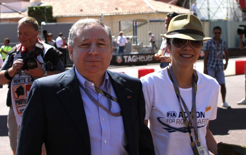 Jean Todt durante o GP de Mônaco