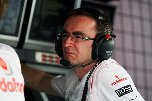 Paddy Lowe, da McLaren