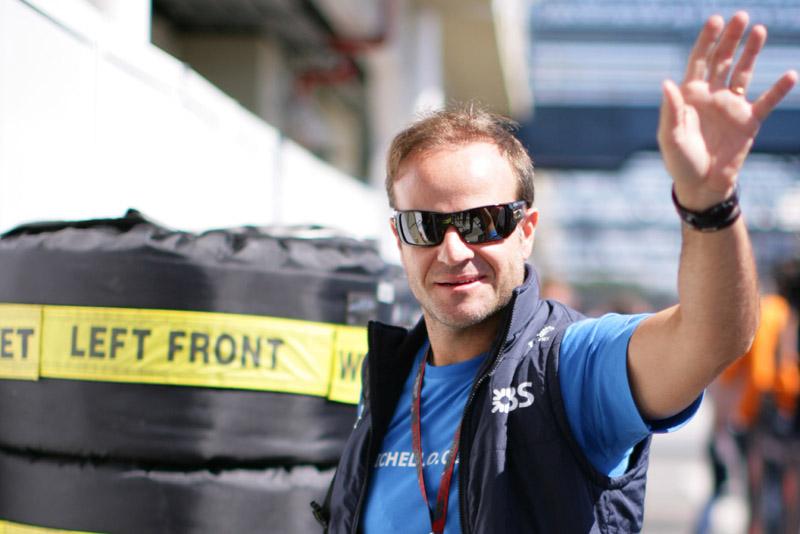 Barrichello: temporada 2011 começou
