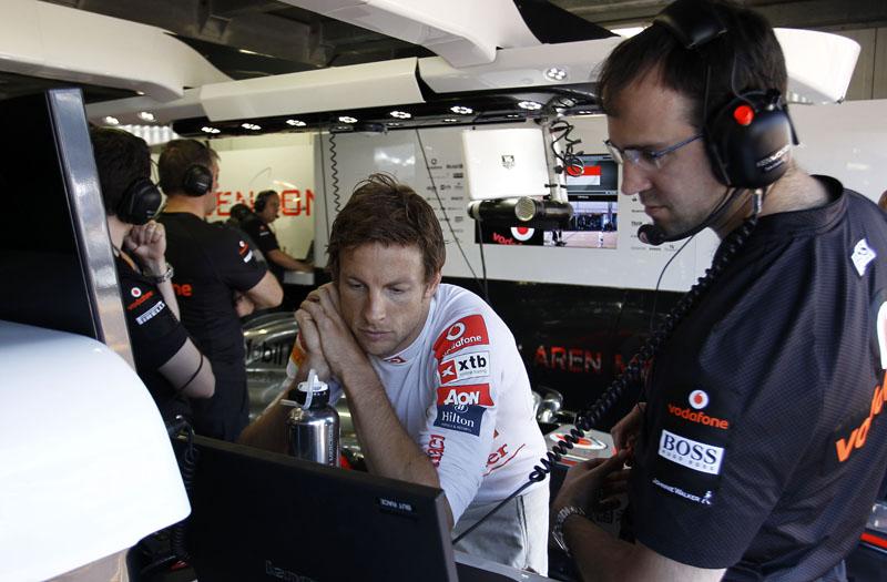 Jenson Button é o quarto colocado no mundial