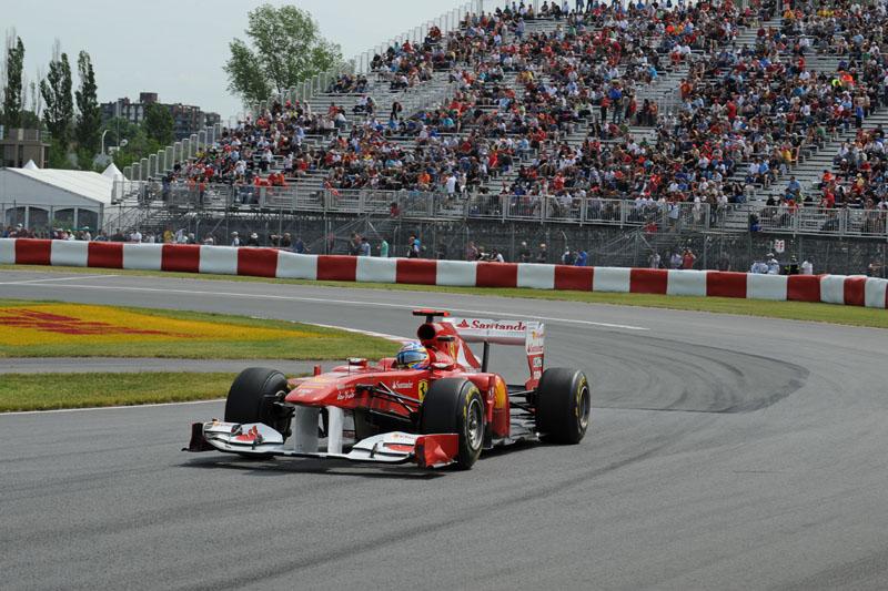Alonso larga na melhor posição do ano