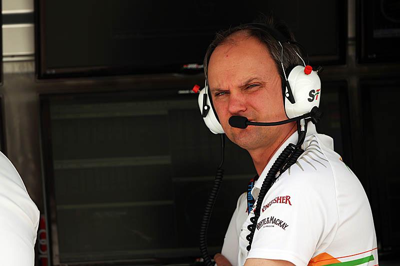 Andreasen estava atualmente na Force India