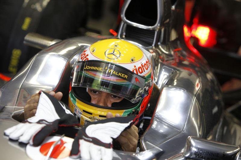 Hamilton caiu da vice-liderança ao quarto lugar no mundial