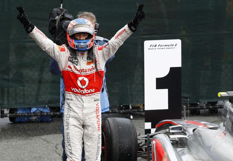 Com a vitória, Button chegou à vice-liderança do mundial
