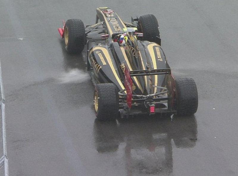 Petrov durante o GP do Canadá