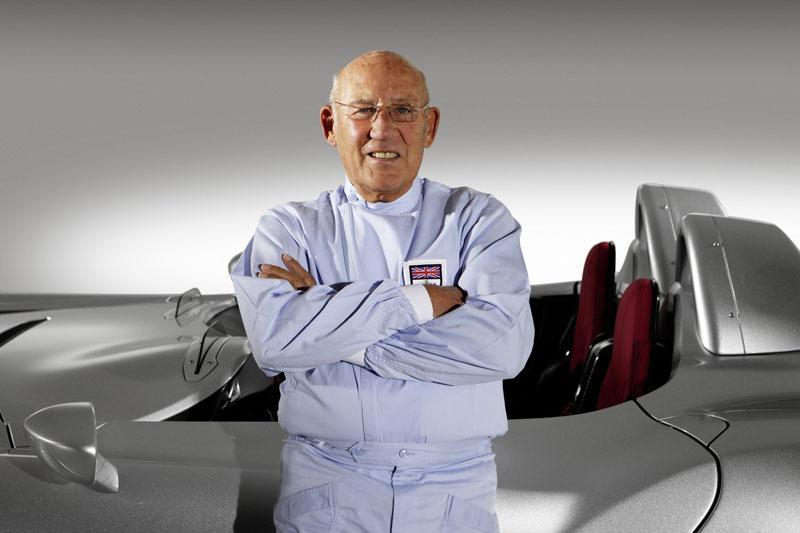 Moss foi um dos maiores rivais de Fangio, e por quatro anos vice-campeão de F-1