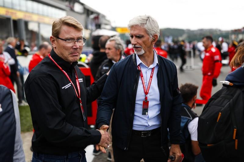 Mika H?kkinen ~Mika Häkkinen und Damon Hill~