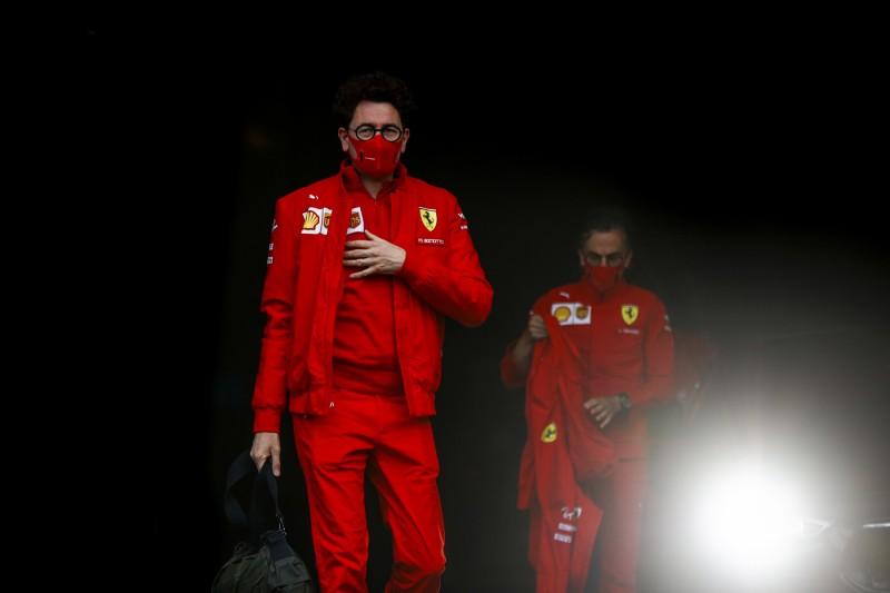 Mattia Binotto Ferrari Ferrari F1 ~Mattia Binotto ~