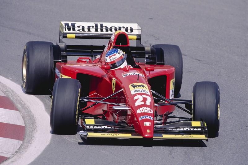Jean Alesi Ferrari Scuderia Ferrari Mission Winnow F1 ~Jean Alesi ~