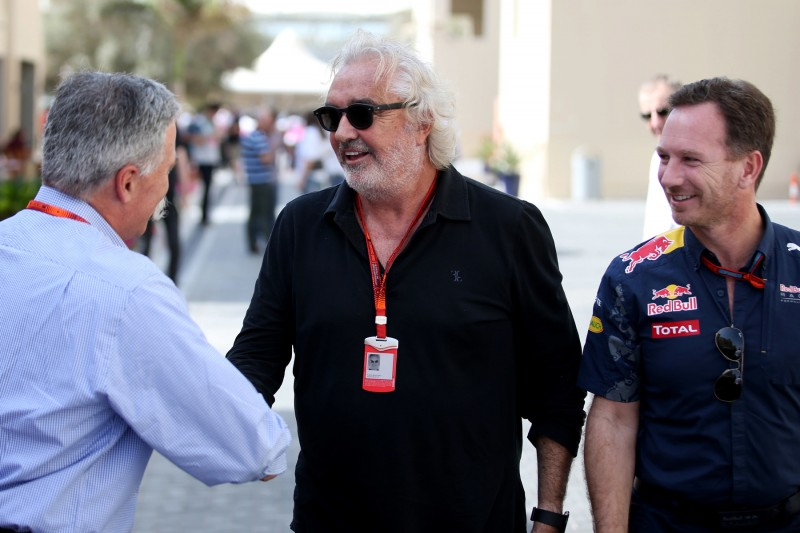 Flavio Briatore Christian Horner Red Bull Red Bull Racing F1 ~Flavio Briatore und Christian Horner ~