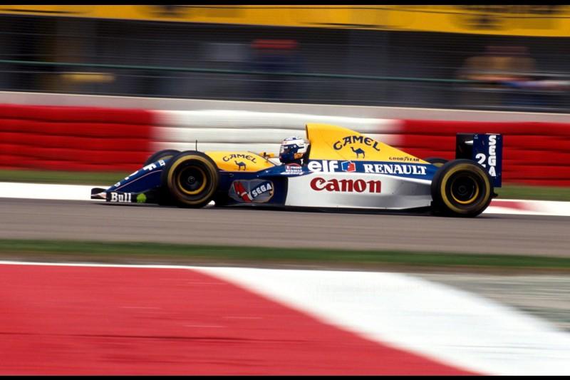 Alain Prost Nicolas Prost Williams Williams Martini Racing F1 ~Alain Prost und Nicolas Prost ~