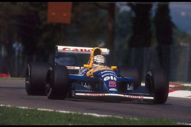 Nigel Mansell Williams Williams Martini Racing F1 ~Nigel Mansell ~