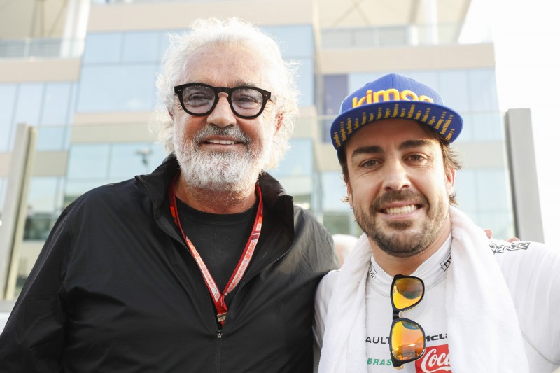 Fernando Alonso Flavio Briatore McLaren McLaren F1 Team F1 ~Fernando Alonso (McLaren) und Flavio Briatore ~