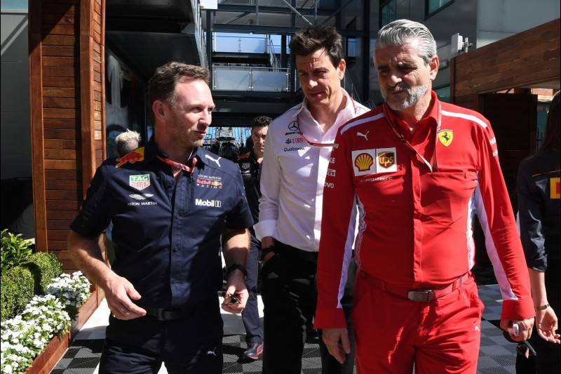 Christian Horner, Toto Wolff, Maurizio Arrivabene