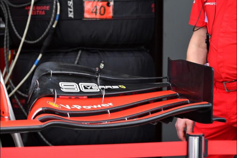 Ferrari, Frontflügel