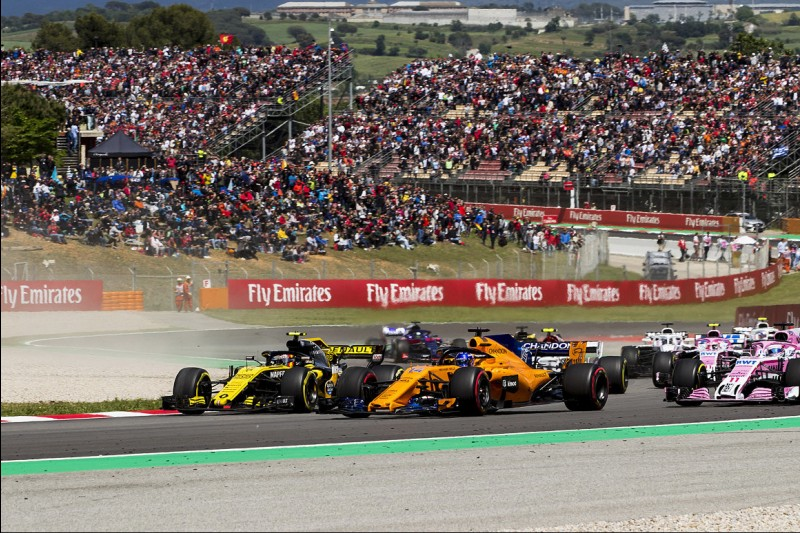 Carlos Sainz, Fernando Alonso, Sergio Perez