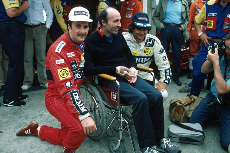 Nigel Mansell, Frank Williams