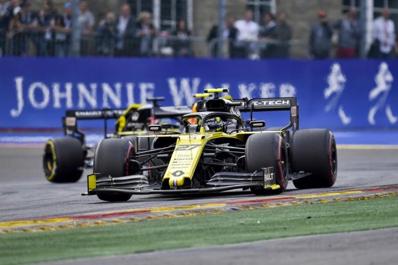 Nico Hülkenberg, Alexander Albon, Daniel Ricciardo