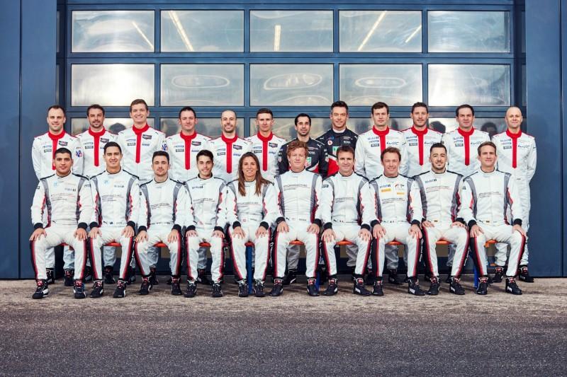 Porsche-Werksfahrerkader 2020