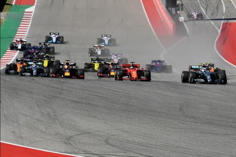 Formel-1-Start in Austin 2019
