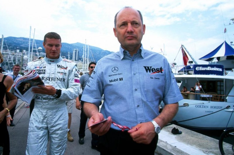 Ron Dennis, David Coulthard