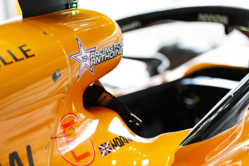Anthoine Hubert McLaren McLaren F1 Team F1 ~Anthoine Hubert ~