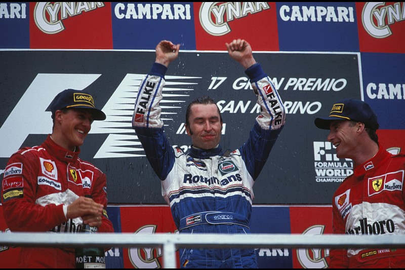 Michael Schumacher Heinz-Harald Frentzen ~Michael Schumacher und Heinz-Harald Frentzen ~
