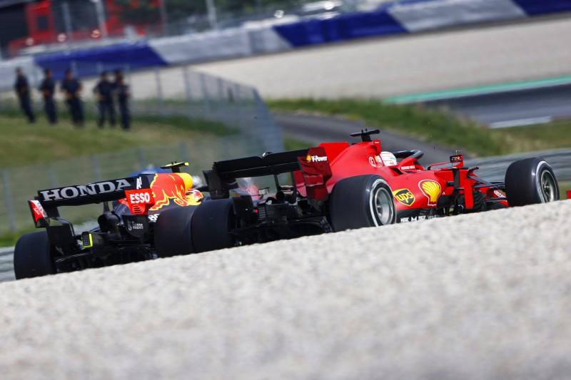 Sergio Perez Charles Leclerc Ferrari Ferrari F1Red Bull Red Bull F1 ~Sergio Perez (Red Bull) und Charles Leclerc (Ferrari) ~
