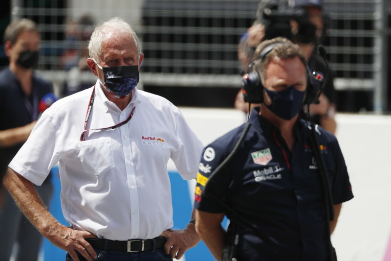 Helmut Marko Christian Horner Red Bull Red Bull F1 ~Helmut Marko und Christian Horner ~