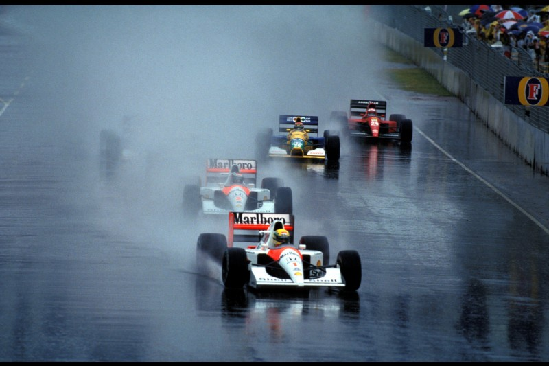 Gerhard Berger Jean Alesi Ferrari Ferrari F1McLaren McLaren F1 ~Gerhard Berger und Jean Alesi ~