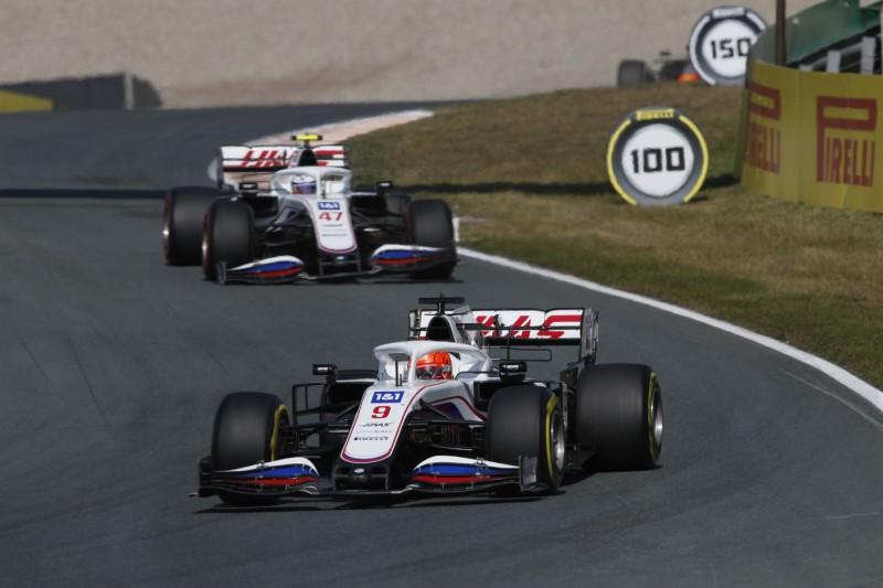 Nikita Masepin Mick Schumacher Haas Haas F1 ~Nikita Masepin (Haas) und Mick Schumacher (Haas) ~