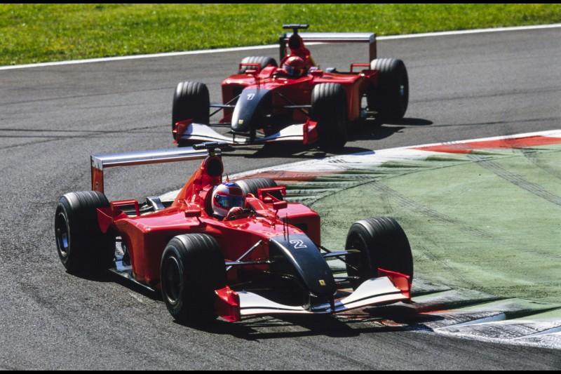 Rubens Barrichello Michael Schumacher Ferrari Ferrari F1Pons Pons MotoE ~Rubens Barrichello und Michael Schumacher ~