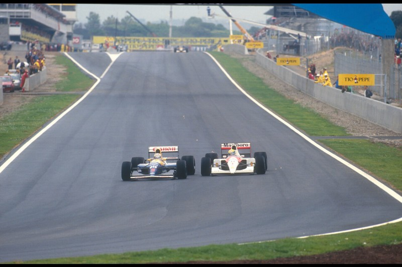 Nigel Mansell Williams Williams Martini Racing F1McLaren McLaren Honda F1 ~Nigel Mansell ~