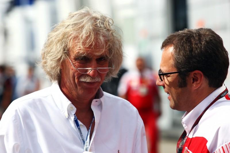 Stefano Domenicali Michael Schumacher Ferrari Ferrari F1 ~Stefano Domenicali und Michael Schumacher ~