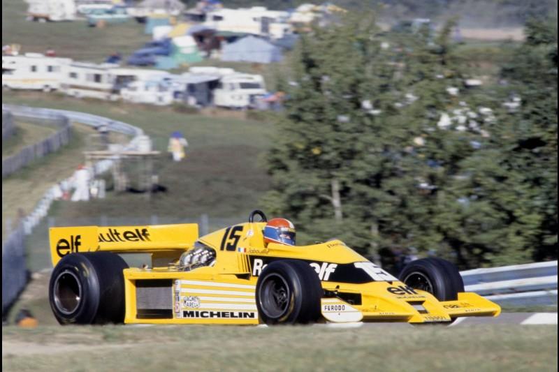 ~Jean-Pierre Jabouille (Renault) in Watkins Glen 1978~