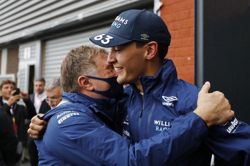 George Russell Jost Capito Williams Williams F1 ~George Russell (Williams) und Jost Capito ~