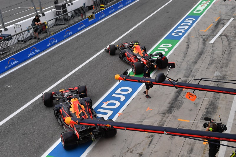 Max Verstappen Sergio Perez Red Bull Red Bull F1 ~Max Verstappen (Red Bull) und Sergio Perez (Red Bull) ~