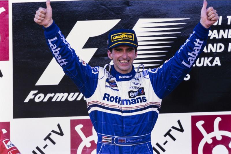 Damon Hill Williams Williams F1 ~Damon Hill ~