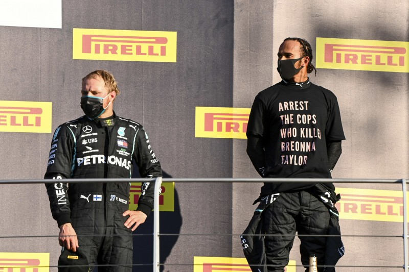 Valtteri Bottas Lewis Hamilton Mercedes Mercedes F1 ~Valtteri Bottas (Mercedes) und Lewis Hamilton (Mercedes) ~