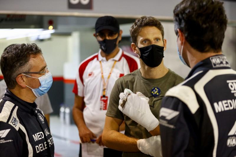 Romain Grosjean Alan van der Merwe Haas Haas F1 ~Romain Grosjean und Alan van der Merwe ~