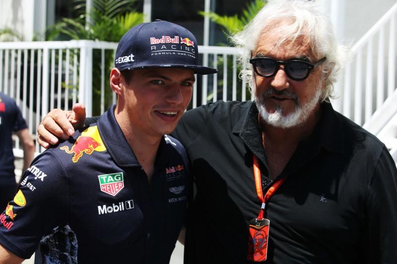 Max Verstappen Flavio Briatore ~Max Verstappen (Red Bull) und Flavio Briatore ~