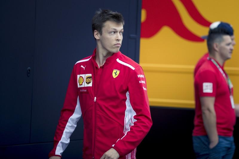 Daniil Kwjat Ferrari Scuderia Ferrari F1 ~Daniil Kwjat ~