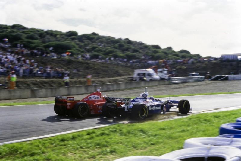 Michael Schumacher Jacques Villeneuve Ferrari Scuderia Ferrari F1Williams ROKiT Williams Racing F1 ~Michael Schumacher und Jacques Villeneuve ~