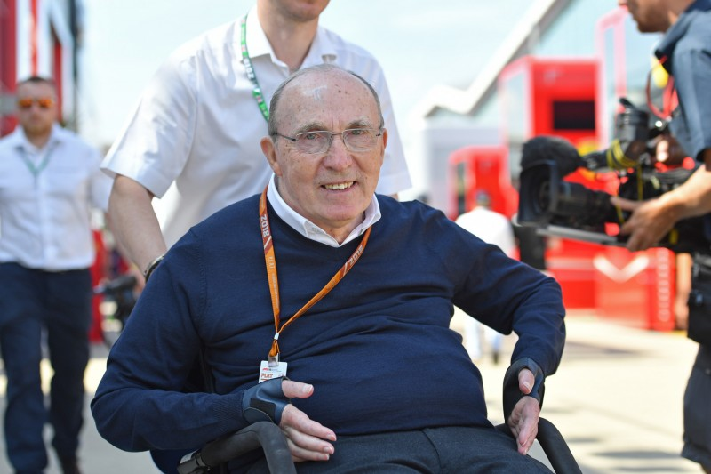 Frank Williams Williams Williams Martini Racing F1 ~Frank Williams ~