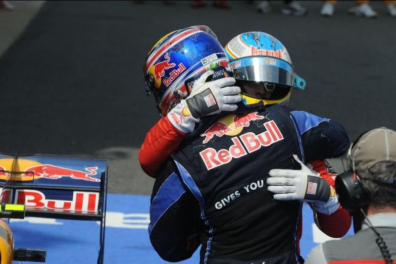 Fernando Alonso Mark Webber Red Bull Red Bull Racing F1 ~Fernando Alonso (Ferrari) Mark Webber (Red Bull) ~