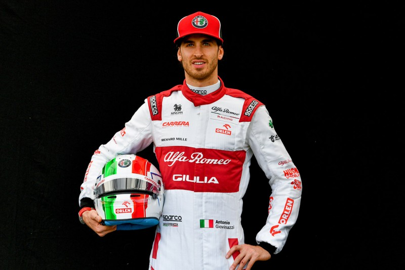 Antonio Giovinazzi ~Antonio Giovinazzi (Alfa Romeo) ~